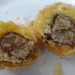 箱根・ルッカの森 - 焼きモンブランの中は贅沢な栗