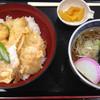 麺一工房 - 料理写真:天とじ丼 ミニそばセット