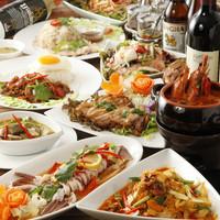 本格的なタイ料理でパーティーはいかがですか。