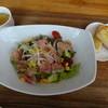 カフェデゴハン - 料理写真:季節野菜の8品目ランチサラダ