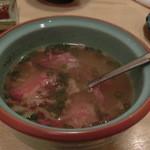 牛や たん平 - テールスープ
