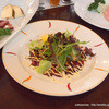 南信州ビール直営レストラン 味わい工房 - 料理写真:桜肉のカルパッチョ