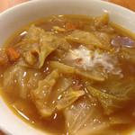 鶴のす - ☃ボルシチ☃ 初めて聞いた料理です。 具沢山の野菜スープてな感じです。 ★3.1