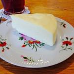 カフェ カチョウフウゲツ - ニューヨークチーズケーキ