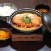 三代目宗次郎 - 料理写真:煮込みかつ丼 120gロースかつ