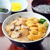 食堂うしお - 料理写真:うにあわび丼¥2500