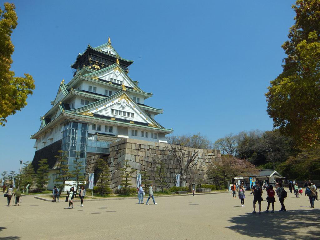 大阪城本丸