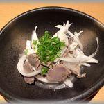 ほのか - 砂肝と黒胡椒和え(^o^)