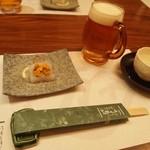 法善寺横丁 誠太郎 - スタートは生ビール