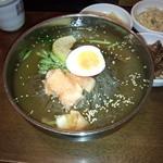 アリラン - キムパプの水冷麺定食 麺大盛り950円