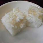 マンゴスチン - セットのデザート