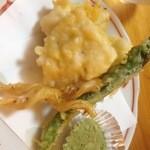 ふぐまる - 鱧の天ぷら
