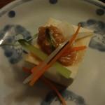 竹とんぼ - 先付け (2014/4)
