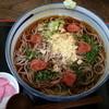 けん太 - 料理写真:冷し梅肉そば 750円(大盛り+100円)