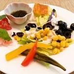 ティダカフェ - 料理写真:前菜①