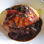 青い鳥のレストラン - デミグラスのオムライス