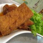昭和のがんちゃん - 赤魚と厚揚げの煮付け
