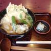 やすけ - 料理写真:やすけうどん温(野菜天うどん)