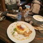 トワモワカフェ - ブリュレロールケーキ