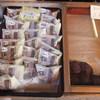 土肥製菓 - 料理写真:どら焼きとおはぎの陳列