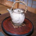 中里の庵 沾 - お茶のお替りに・・・