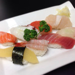 丸喜寿司 - 140430 夕日寿司