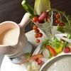 栞菜 - 料理写真:彩り豊かなアートのよう。