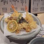 たいしょう - 盛り合わせ天ぷら