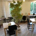 cocoo cafe - 靱公園の景色をお楽しみ下さい