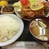 大樹 - 料理写真:唐揚定食(600円)