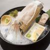 きら・柊 - 料理写真:新鮮で透き通った呼子産のイカを使ったお造りは絶品.