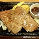 ステーキガスト - 熟成ロース薄切りステーキ(160g)、にんにく醤油ソース
