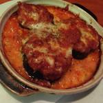 デスティニー - 米ナスとミートソースのチーズ焼