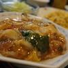 台湾家庭料理 大公 - 料理写真:天山セット(あんかけ編