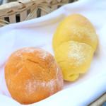 スラッシュカフェ - にんじんとパプリカのパン