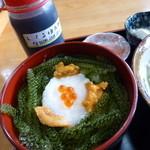 元祖 海ぶどう - これが、元祖海ぶどう丼!