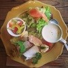 パスタコッタ   - 料理写真:ランチの前菜プレート