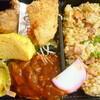 月とうさぎ - 料理写真:炒飯弁当¥450(税込)。野菜がもうちょっと入ってると嬉しいのですが。