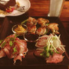 cafe bar WIRED - 料理写真:お肉のミスト(生ハム、ローストビーフ、ハーブチキン)680円