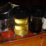 アジアガーデン - 唐辛子、酢、ナンプラー