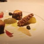 キュイジーヌ[s] ミッシェル・トロワグロ - 蛸のヴェネチア風 野菜のマリネ