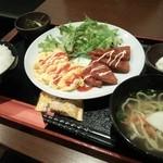 びたろー - 「ポーク玉子定食・850円」