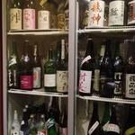 和酒bar uonoya - お酒がいっぱーい