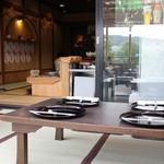京料理 卯柳 先斗町 花 - 川床から店内