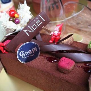 パティスリー・ジラフ - 料理写真:ビュッシュ ド ノエル'09 : CHOCOLATE LOVERのためのビュッシュ ド ノエル