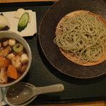 越後長岡 小嶋屋 - 冬限定 もち豚のぶた汁そば ¥1260