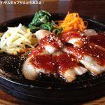 26961315 - 特製味噌だれサムギョプサル(ランチセット)