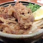 麺処 綿谷 - 牛肉ぶっかけ(小)