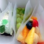 かにわしタルト店 - 八百屋のフルーツタルト、トンプソン、チョコミント