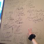 26984534 - 壁に書かれたサイン